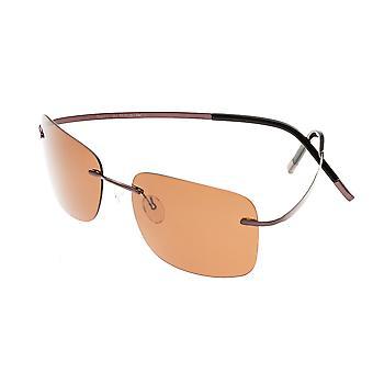 Simplify Ashton Polarized Sunglasses - Brown/Brown
