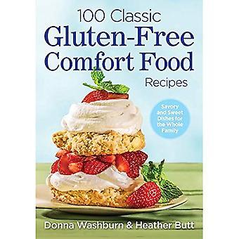 100 recettes de nourriture de confort classique sans Gluten