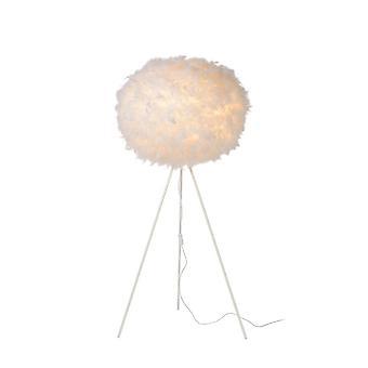 Яйца lucide придурковатый мягкие современные круглые синтетического материала белый торшер