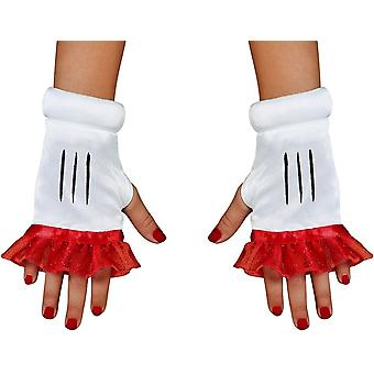 Red Minnie Adult Glovettes