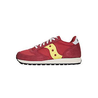 Saucony Red & Yellow Jazz Original Vintage Sneaker