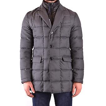 Fay Ezbc035060 Men's Grey Nylon Down Jacket