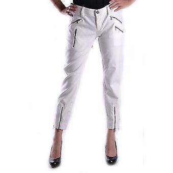 Neil Barrett Ezbc058008 Women's White Cotton Jeans