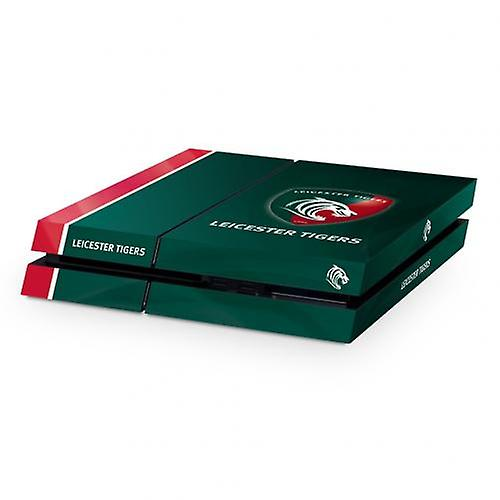 Leicester Tigers PS4 Console Skin Green/Red