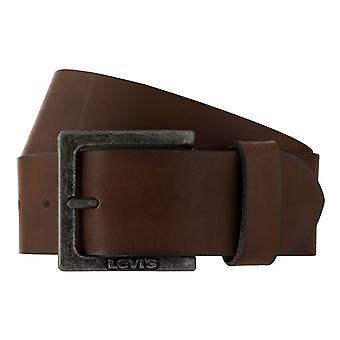 Los pantalones vaqueros de Levi BB´s cinturones hombre cinturones cuero correa 7829 de Brown