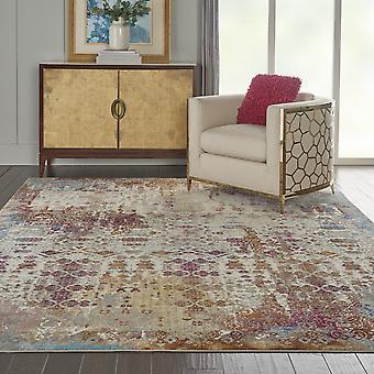 Rad04 de alfombras radiantes en marfil y Multi por Nourison