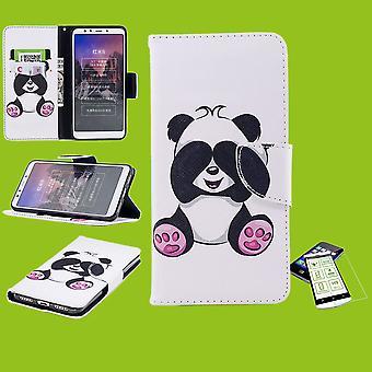 Für Samsung Galaxy A50 A505F / A30s A307F Kunstleder Tasche Book Motiv 33 + H9 Hart Glas Schutz Hülle Case Cover Etui Neu