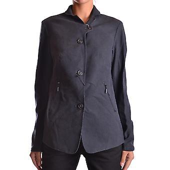 Brema Ezbc146015 Women's Blue Wool Outerwear Jacket