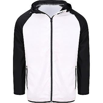 Outdoor Look Mens Cool Contrast Lightweight Shell Jacket