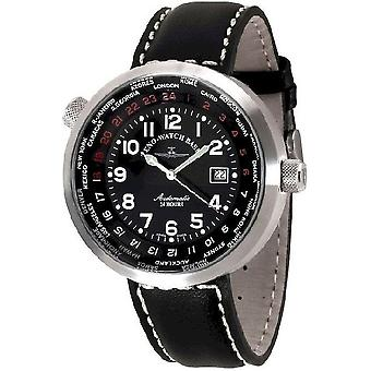 Zeno-watch mens watch Rondo world timer B552-a1