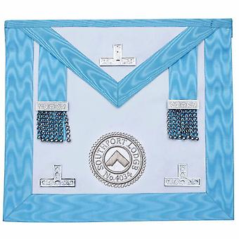 Worshipful Master Apron With Lodge Logo