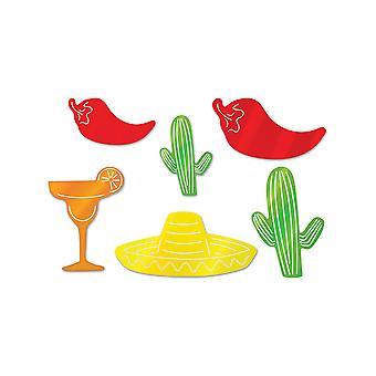 Folie Fiesta silhuetter