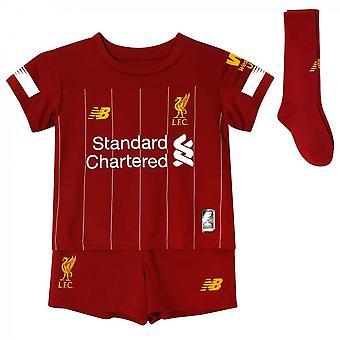 2019-2020 Liverpool Home kleine jongens Mini Kit