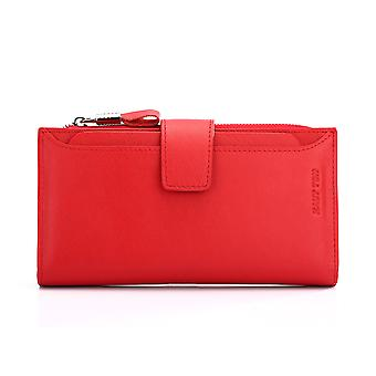Hautton Leather Clutch Wallet With Pull Out Sleeve