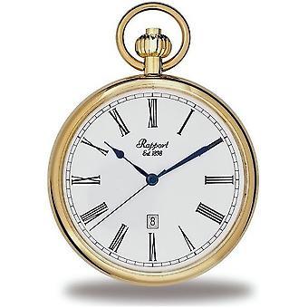 Rapport London Pocket Watch open gezicht Pocket Watch PW72