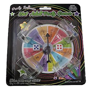 Jeu de Party Spinner 2 In 1 Adult Party