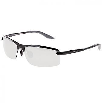 الألومنيوم الوشق تولد الاستقطاب النظارات الشمسية-أسود/فضة