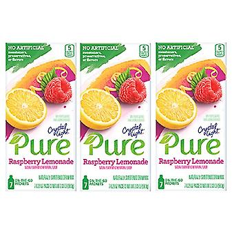 Crystal Light Pure Raspberry Lemonade Drink Mix 3 Pack