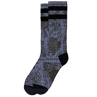 American Socks Snake Eater Mid High Socks