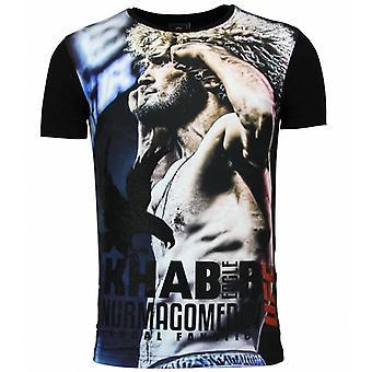 The Eagle Nurmagomedov - Men's UFC Khabib T-shirt Heren - Zwart