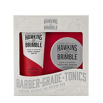 Hawkins & Brimble grooming gift set 2PC (Shave Cream & post scheren balsem)