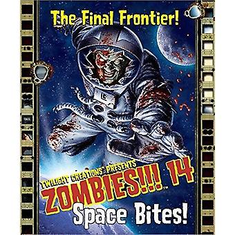 Zombies 14 Space Bites Card Game