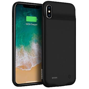 iPhone X/ XS protective case 2 in 1 with Integrated 3200mAh battery USAMS Black