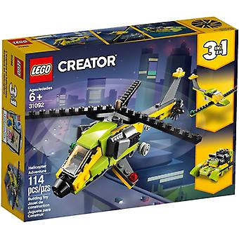 31092 LEGO helicopter adventure