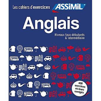 Coffret Cahiers d'Exercices Anglais Faux-Debutants + Intermediaire by