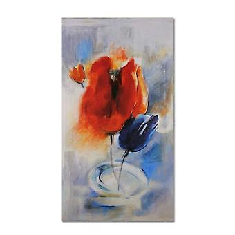 Lienzo, Imagen sobre lienzo, Tulipanes de cuento de hadas