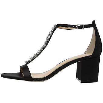 BADGLEY MISCHKA Womens Lindsey tecido aberto Toe ocasião especial sandálias de tiras