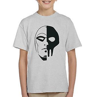 The Phantom Skull Split Kid's T-Shirt