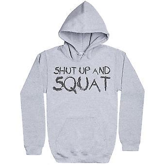 Shut Up And Squat - Womens Hoodie