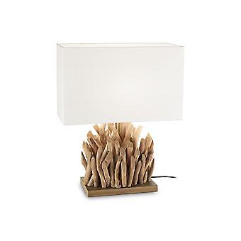 Ideale Lux Snell 1 Light Tavolo Bianco IDL201399