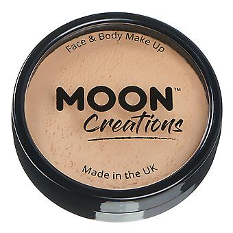 Moon Creations - Pro Face & Body Paint Cake Pots - Beige