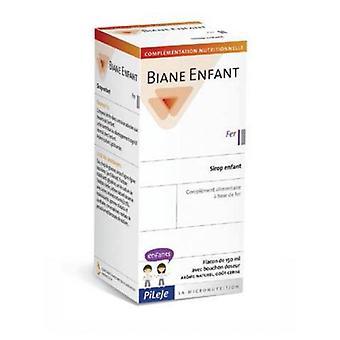 Pileje Biane Enfant Iron 150ml. Children's Syrup