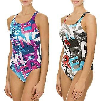 arena Womens Satellites One Piece V-back Training Swimming Pool Swimsuit Costume