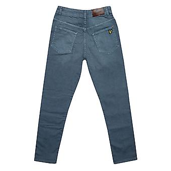 Junior Boys Lyle And Scott Skinny Fit Jeans In Denim- Zip Fly- Five Pocket