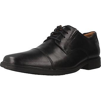 Clarks Zapatos De Vestir Tilden Cap Color Black