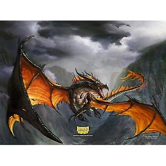 Dragon Shield Playmat- Amina NonGlare Matte Black Limited Edition