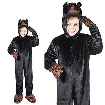 Gorilla aap jungle kinderen kostuum een stuk Gorilla kostuum