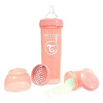 Twistshake Babyfles 330ml Pastel Peach
