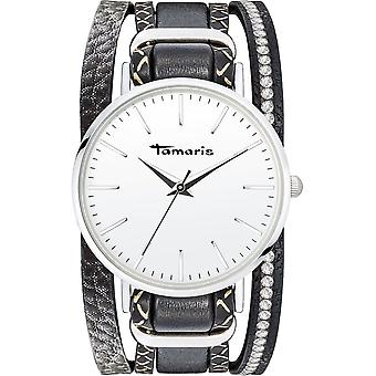 Tamaris - Wristwatch - Women - TW114 - silver, black