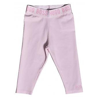 Hugo Boss Girls Hugo Boss Infant Girl's Pink Leggings