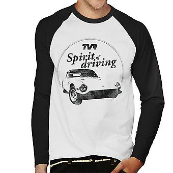 TVR Spirit Of Driving Men's Baseball Long Sleeved T-Shirt