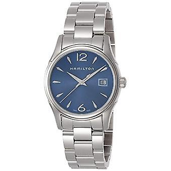 Hamilton ladies Quartz analogue watch with silver Strap H32351145