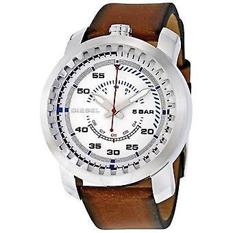 Diesel DZ1749 Rig Men's Brown Leather Strap Watch