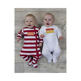 The Essential One Baby Unisex Special Delivery Sleepsuits -  2 Pack