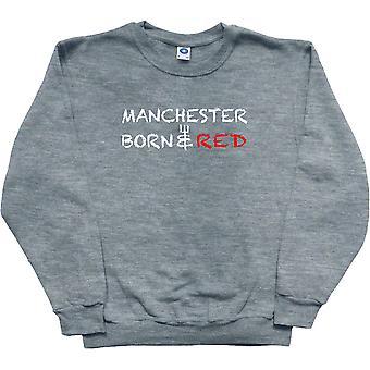 Manchester nascido e moletom de cinzas vermelhas