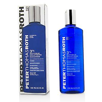 Glycolic solutions 3% cleanser 216488 250ml/8.5oz